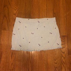 Lily Pulitzer Sear-Sucker Mini Skirt Size 12